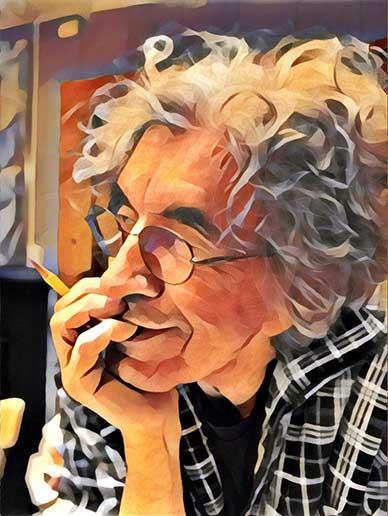 Portrait of Rick Lenz by Linda Lenz